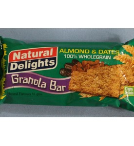 Granola Bars - Almonds & Dates Granola Bars Case