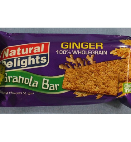 Granola Bars - Ginger Granola Bars Case